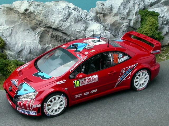 RENAISSANCE TK24/241 1/24 プジョー 307 WRC Gardemeister MC 2006 3rd デカール
