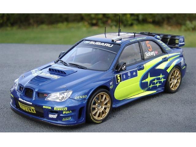 RENAISSANCE TK24/263D 1/24 スバル WRC S12 モンテカルロ/Tdc 2006 デカールのみ