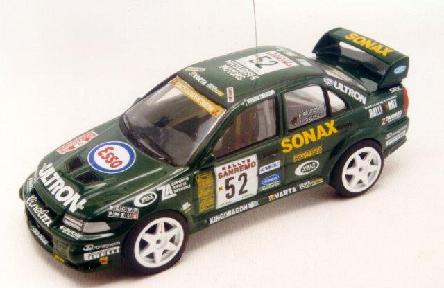 RACING43 S125 ミツビシ LANCER Ev.6 Gr.N Ultron SanRemo 99