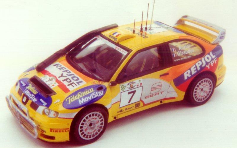 RACING43 S131 セアト Cordoba WRC Ev.2 Safari 2000