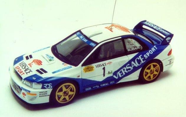 RACING43 S141 スバル IMPREZA WRC Versace Sport LANA 2000