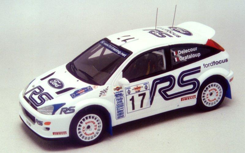 RACING43 S184 フォード FOCUS WRC Ev. 2001 RS Acropolis 2001