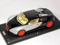 MRコレクション BUG01AB4 1/18 ブガッティ ベイロン 16.4 Silver/Black (Red wheel) 25台限定