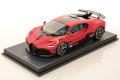MR collection BUG09E 1/18 Bugatti Divo Italian Red Matt