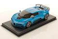 ** 予約商品 ** MR collection BUG11B 1/18 Bugatti Centodieci French Racing Blue Limited 49pcs