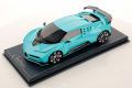 ** 予約商品 ** MR collection BUG11E 1/18 Bugatti Centodieci Historic Bugatti Light Blue Limited 49pcs