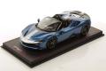 ** 予約商品 ** MR collection FE032B 1/18 Ferrari SF90 Spider Blu Elettrico