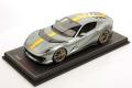 ** 予約商品 ** MR collection FE033A 1/18 Ferrari 812 Competizione Grigio Coburn / Yellow stripe