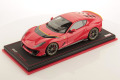 ** 予約商品 ** MR collection FE033E 1/18 Ferrari 812 Competizione Rosso Scuderia / Yellow Lines