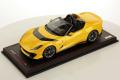 ** 予約商品 ** MR collection FE034A 1/18 Ferrari 812 Competizione A Giallo Tristorato
