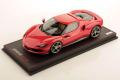 ** 予約商品 ** MR collection FE035G 1/18 Ferrari 296GTB Rosso Scuderia