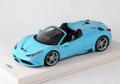 MRコレクション FE12 1/18 フェラーリ 458 スペチアーレ A baby Blue (ケース付)