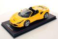 ** 予約商品 ** MR collection FE029A 1/18 Ferrari F8 Spider Giallo Modena