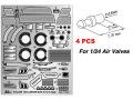 A+Club PE006 1/24 ミツビシ ランサー Evolution X エッチングパーツ(エアバルブ付き)【メール便可】