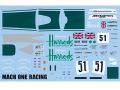 AUTOBARN 1/43 マクラーレン F1-GTR Harrods LM95 n.51 スペアデカール【メール便可】