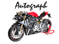 【お取り寄せ商品】 Autograph Transkit for Pocher 1/4 model kit HK107 Ducati 1299 Panigale S (通常版)