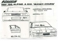 ALEZAN156 アルピーヌ A610 マニクール