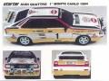 STARTER AUD001 アウディ QUATTRO HB モンテカルロ 1984