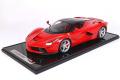 ** 予約商品 ** BBR 1202A-21 1/12 La Ferrari Rosso Corsa / Black Roof / Silver wheels Limited 100pcs