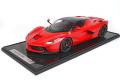 ** 予約商品 ** BBR 1202B1-21 1/12 La Ferrari Rosso Corsa / Carbon Roof / Black wheels Limited 20pcs