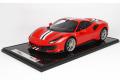 ** 予約商品 ** BBR1213A1 1/12 Ferrari 488 Pista Rosso Corsa Metallic Limited 50pcs