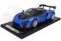 ** 予約商品 ** BBR1214A 1/12 McLaren Senna Azura Blu Limited 30pcs