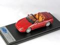 BBR143C マセラティ 4200GT Spider 2001 ダークレッド
