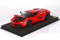 BBR 1822B5DIE 1/18 La Ferrari Rosso Corsa / Black wheels Limited 100pcs (ケース付)