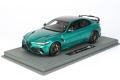 ** 予約商品 ** BBRC1852C1-21V 1/18 Alfa Romeo Giulia GTAM Verde Montreal /(イエローキャリパー) Limited 48pcs (ケース付)