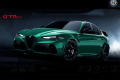 ** 予約商品 ** BBRC1852C2V 1/18 Alfa Romeo Giulia GTAM Verde Montreal /(シルバーキャリパー) Limited 20pcs (ケース付)