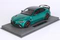 ** 予約商品 ** BBRC1852CV 1/18 Alfa Romeo Giulia GTAM Verde Montreal /(レッドキャリパー) Limited 150pcs (ケース付)