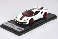 ** 予約商品 **  BBRC202CFG Ferrari 488 Pista Tailor Made Metallic Italian White Limited 78pcs