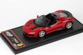 BBRC208F Ferrari J50 Rosso Tristorato / Black Limited 28pcs
