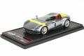 BBRC220A Ferrari Monza SP1 Paris Auto Show Silver /Yellow Limited 330pcs
