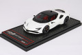 BBRC228D1 Ferrari SF90 Stradale Avus White / Black roof Limited 30pcs