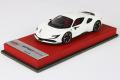 BBR Premium C228Dpre Ferrari SF90 Stradale Avus White Limited 20pcs