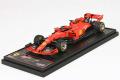 ** 予約商品 ** BBR Deluxe C231BDL Ferrari SF90 Belgium GP 2019 S.Vettel (Red Leather Base)