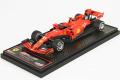 ** 予約商品 ** BBR Deluxe C234ADL Ferrari SF90 Italy GP Monza 2019 C.Leclerc Winner (Red Leather Base)