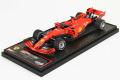 ** 予約商品 ** BBR Deluxe C234BDL Ferrari SF90 Italy GP Monza 2019 S.Vettel (Red Leather Base)