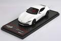 ** 予約商品 ** BBR Deluxe C236BDL Ferrari Roma White (Red Leather Base)