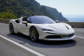** 予約商品 ** BBRC244E Ferrari SF90 Spider Avus Whtie /(イエローキャリパー) Limited 24pcs