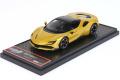 ** 予約商品 ** BBRC249A Ferrari SF90 Spider (closed roof) Giallo Montecarlo Limited 24pcs (ブラックルーフ)