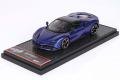 ** 予約商品 ** BBRC249B Ferrari SF90 Spider (closed roof) Blue Electric Metal Limited 50pcs (ブラックルーフ)