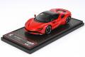 ** 予約商品 ** BBRC249C Ferrari SF90 Spider (closed roof) Rosso Corsa Limited 60pcs (ブラックルーフ)