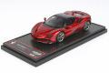 ** 予約商品 ** BBRC249D Ferrari SF90 Spider (closed roof) Rosso Fuoco Limited 30pcs (ブラックルーフ)