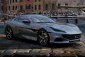 ** 予約商品 ** BBRC250A Ferrari Portofino M (Closed roof) Grigio Titanio Metal