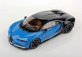 MRコレクション BUG06A 1/18 ブガッティ シロン Le Patron / Bugatti Light Blue Sport