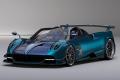 ** 予約商品 ** BBRC226B Pagani Huayra Roadster BC Dark Carbon Fibre Blu Limited 72pcs