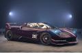 ** 予約商品 ** BBRC226C Pagani Huayra Roadster BC Black Carbonium / Dark Red Carbonium Limited 48pcs