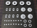 CLAY models P002A 1/24 956 Brake/Wheel Cover set ver.A